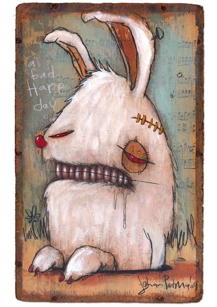 Креативно-депрессивный кроль!