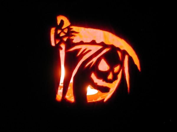 Jack O Lantern Grim Reaper By Harish Khanna Artwanted Com