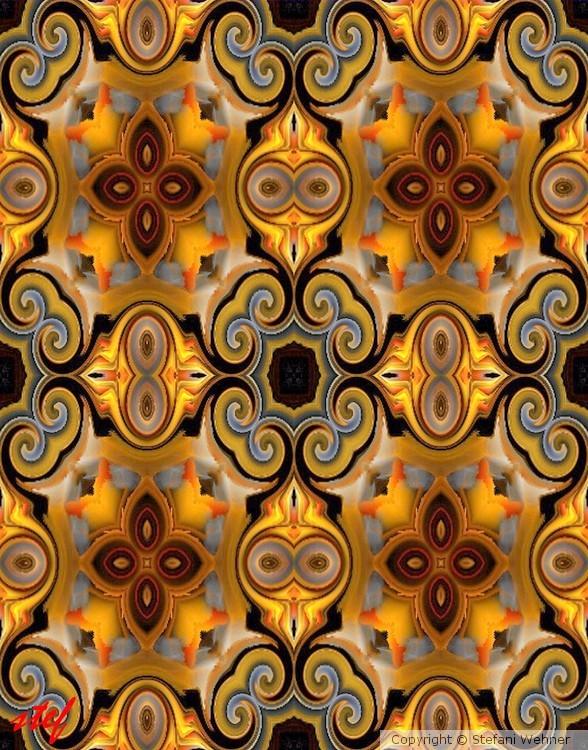 golden fall pattern