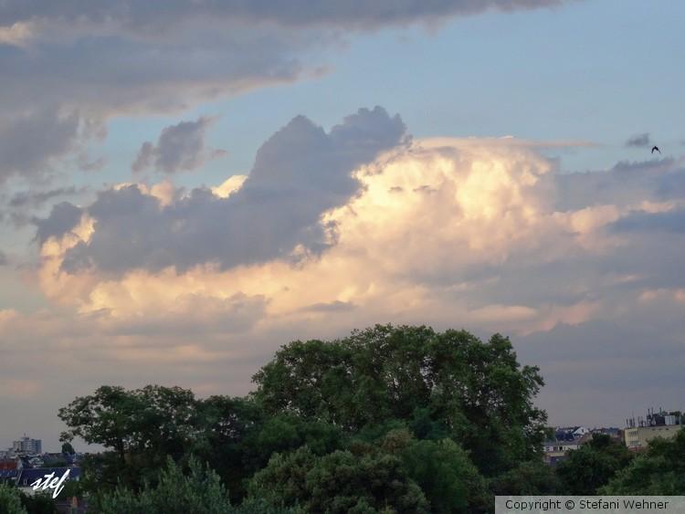 sleeping on the cloud