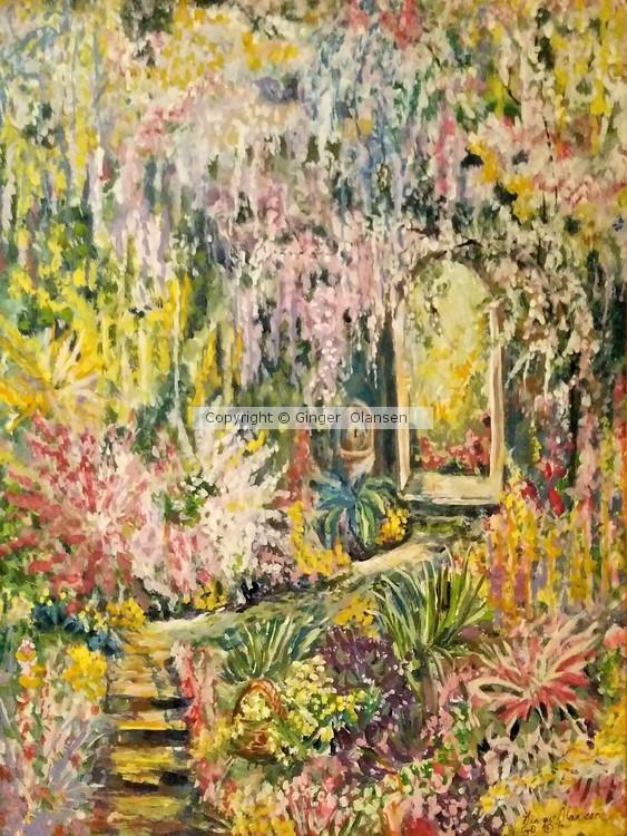 A Romantic Path to the Garden