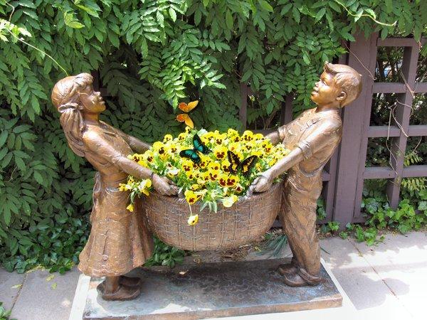 Wichita Botanical Gardens By Robert Mcdaniel