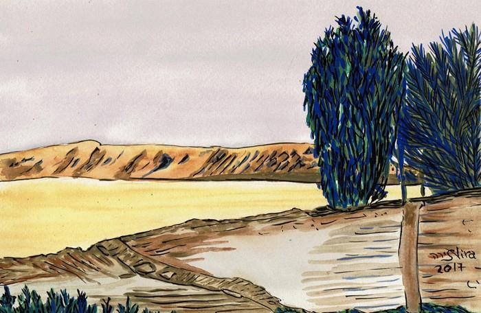 Dead Sea Area.. Different timing