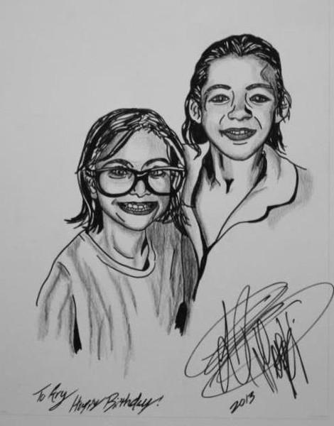 Nina and Ary