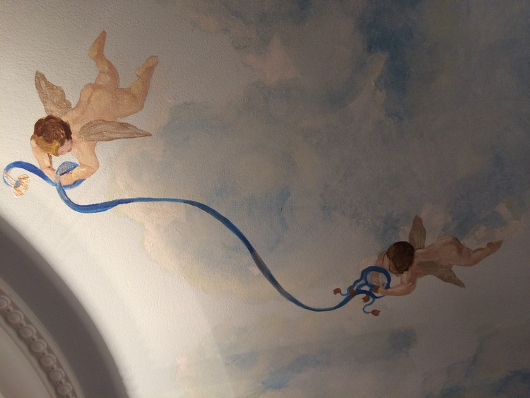 Ceiling painting