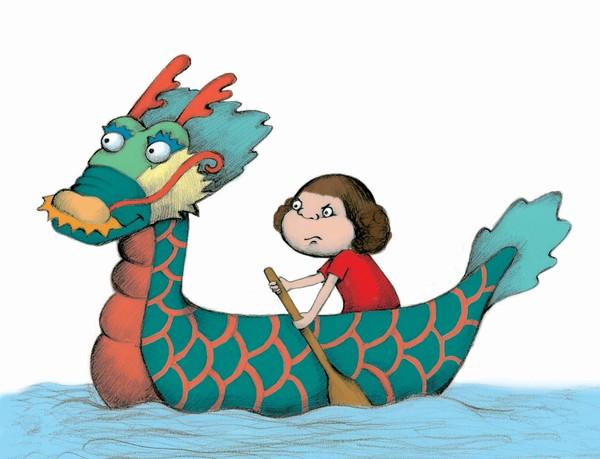 Dragon Boat Race by Chien-Hua Chang | ArtWanted.com