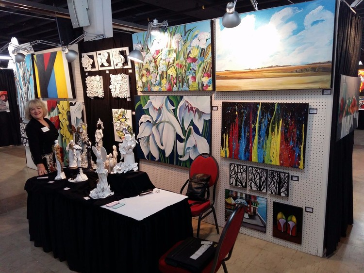 Manitoba Art Expo, 2017, Winnipeg, Mb.