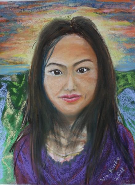 Vang Vieng Girl in her early twenties!