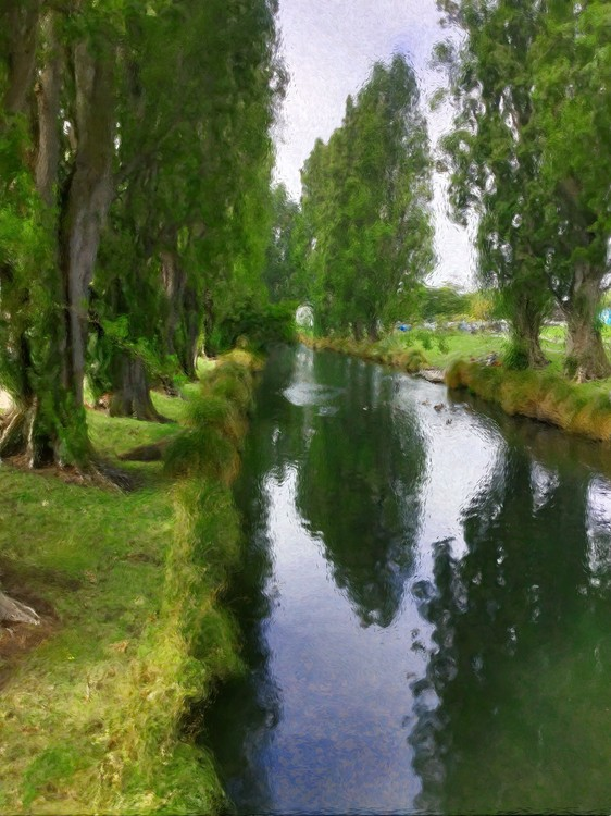 Avon River Christchurch NZ