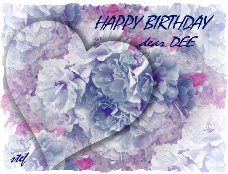 Birthday Greetings for Dee