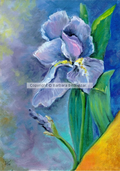 Purple Iris Blues