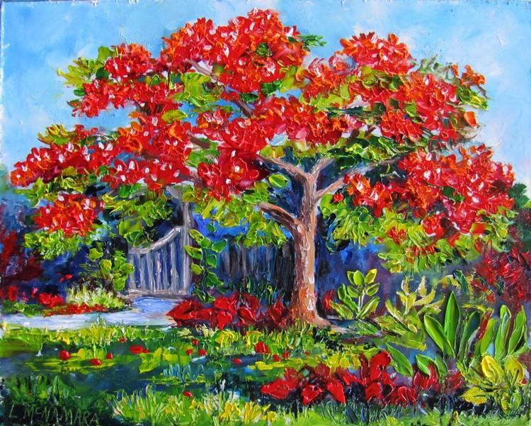 1614 SOLD Royal Poinciana at Heathcote Botanical Gardens