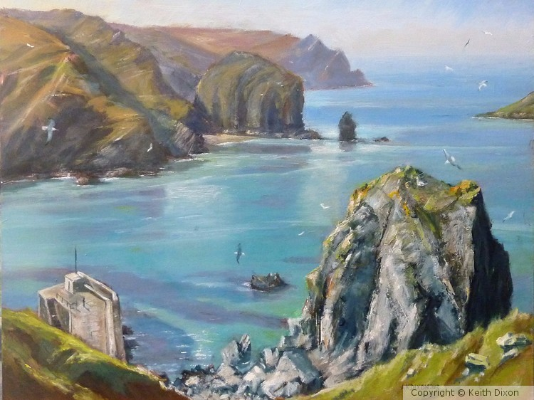 Low Tide at Mullion Cove, Cornwall