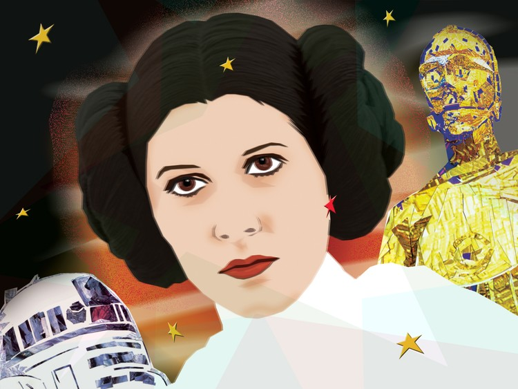 RIP-Carrie Fisher, 1956-2016