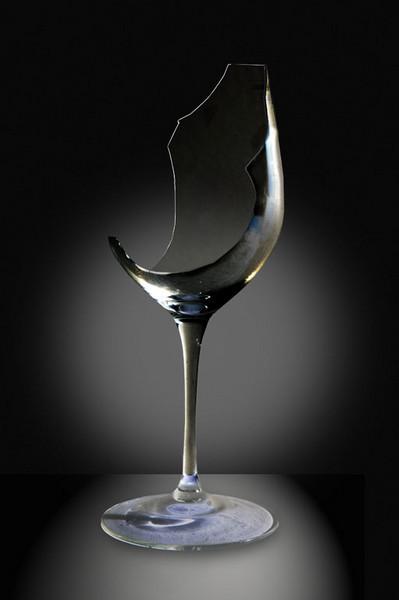Broken Wine Glass On Image & Photo (Free Trial)   Bigstock   Broken Wine Glass Painting