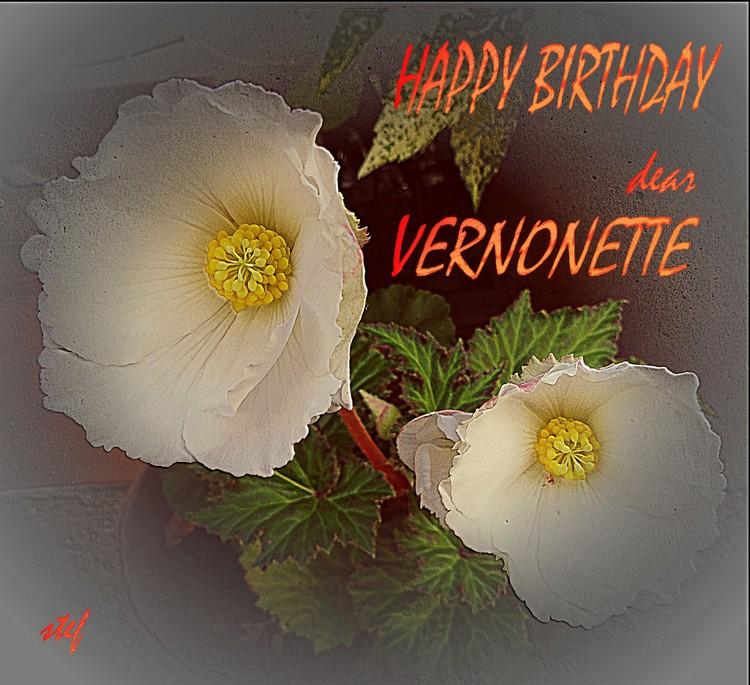 flowergreetings for Vernonette