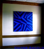 Victor Angelo, Bleu, 48 x 48 in. 1995