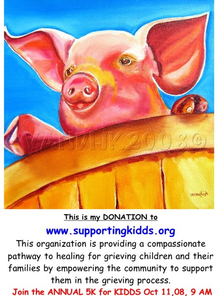 One Little Piglet (DONATION)