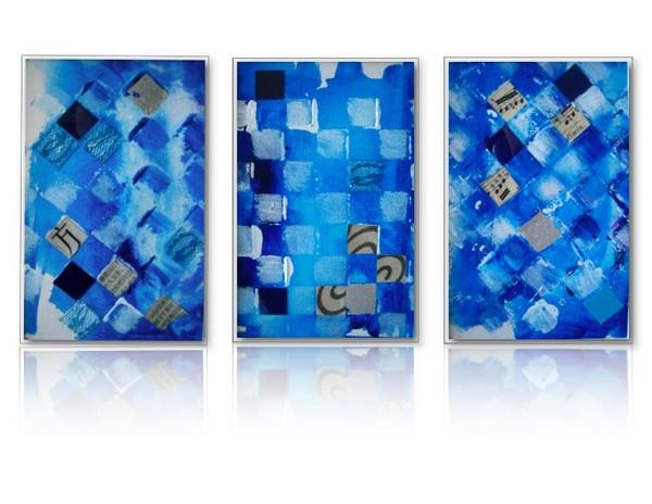 Dynamic Squares (triptych)