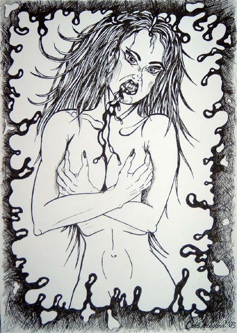 Vampire Lady - Full View
