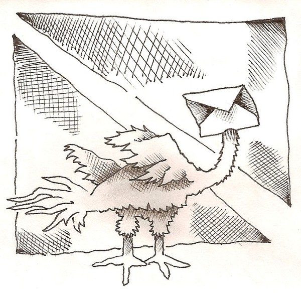 Air Mail Bird
