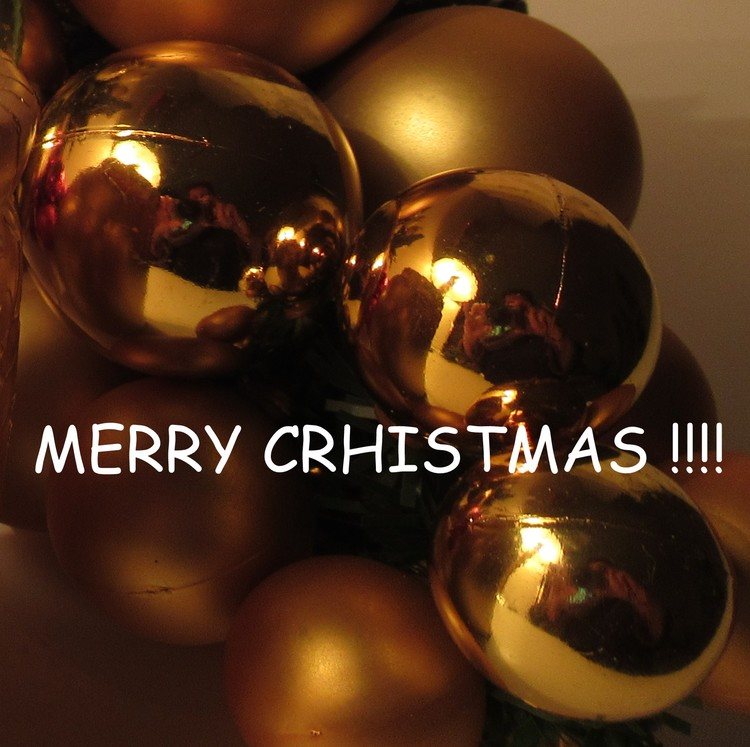 MERRY XMAS TO ALL OF YOU !!!