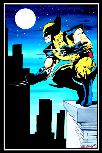 Wolverine On Building
