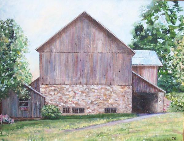 Cammie's Barn..Circa 1750