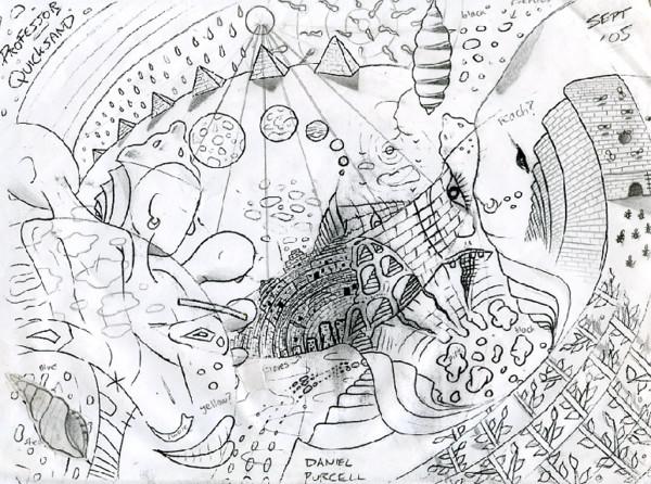 Professor Quicksand - sketch