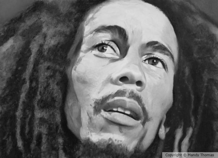 Bob Marley no 31 by Mandy Thomas