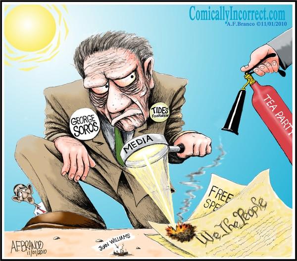George Soros (Cartoon)