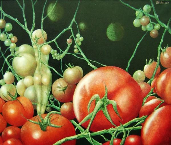 Delicious little tomato