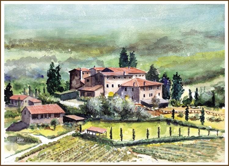 Farmhouse in Tuscany (Italy)