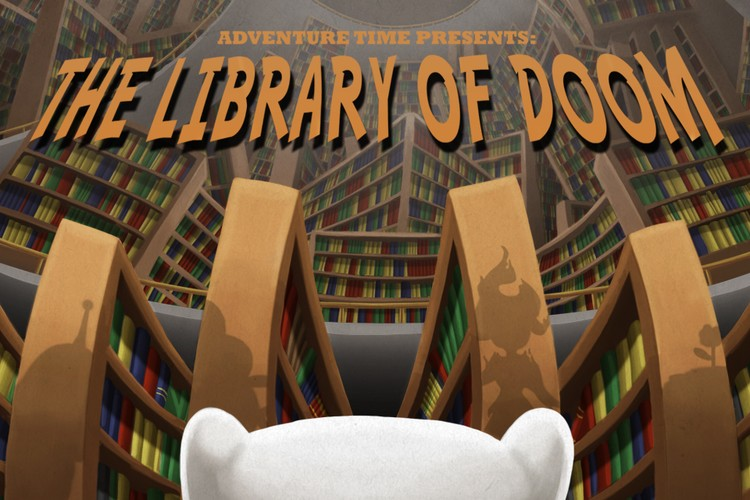 Legends of Ooo - Library of Doom Title Card