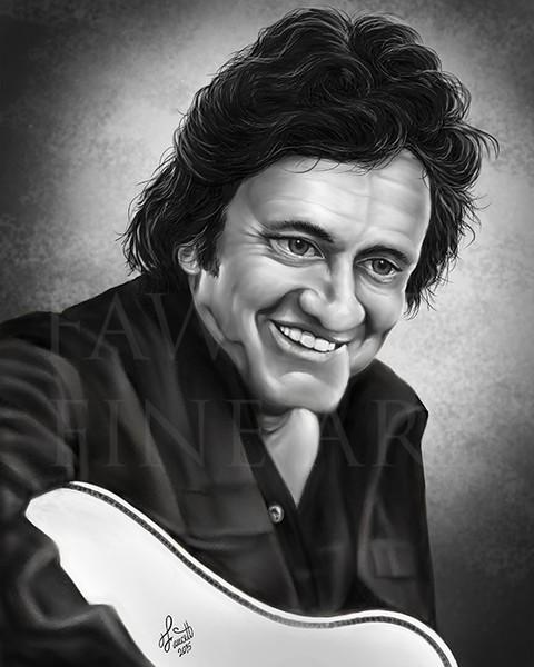 The Man in Black - Johnny Cash
