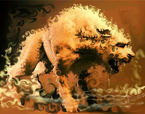 Ruler Spirit of Mesopotamian Magical River * 2009