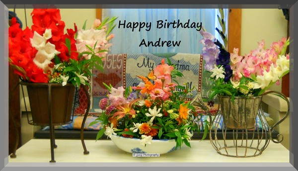 To Andrew, A Happy Birthday