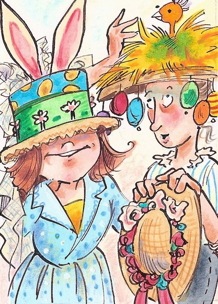 Funky Easter Hats