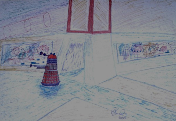 DALEK ON PATROL