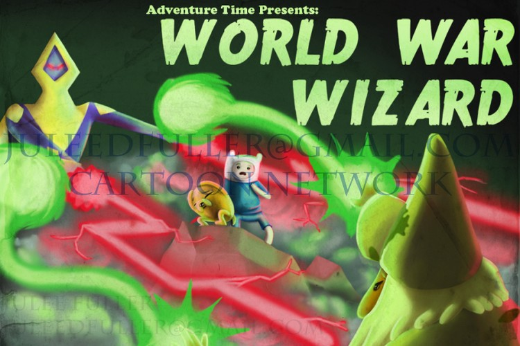 Legends of Ooo - World War Wizard Title Card