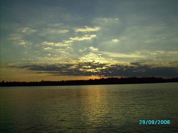 mobile delta at dusk