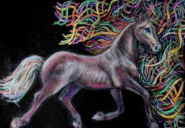 Equine Ribbon Gallop