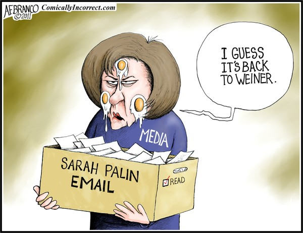 Palin Email (Cartoon)