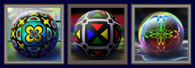 Triptych Balls