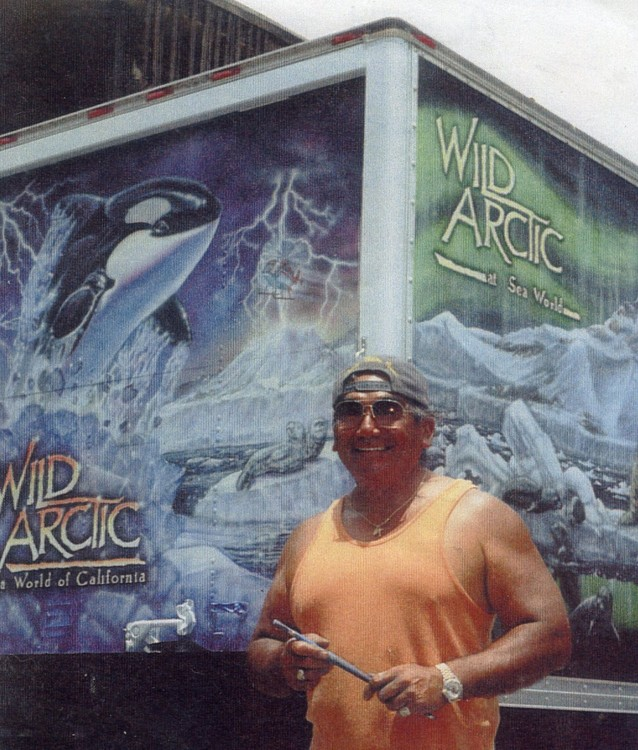 Sea World's Wild Arctic, Truck Mural Commission