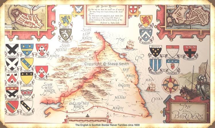 The Border Reivers of England and Scotland c16th century