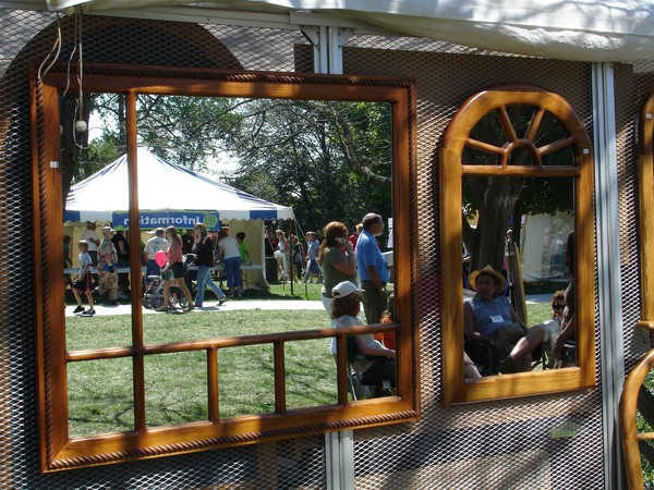 Reflections of the art fair
