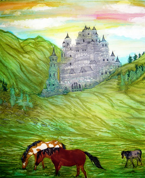Jennifers castle in the hills