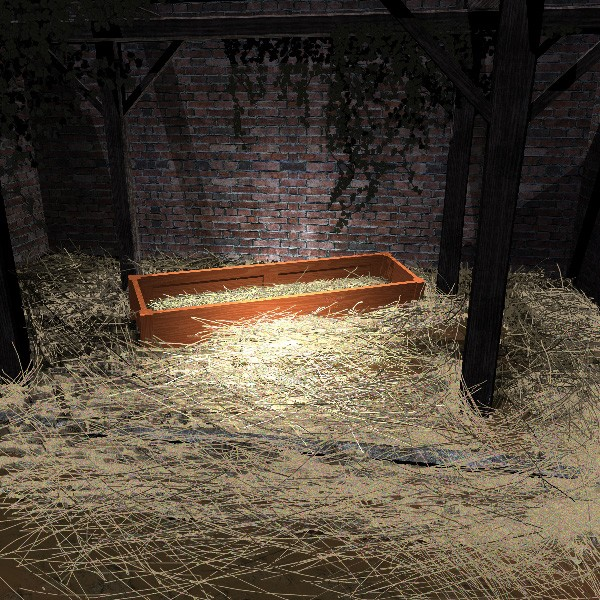 The Empty Manger - No room at the Inn