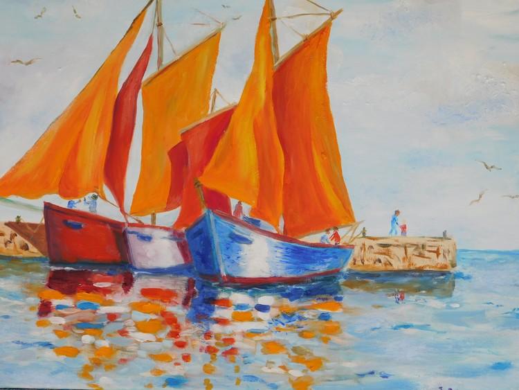 B Oranges Sails #2